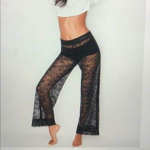 Victoria's Secret lace pants